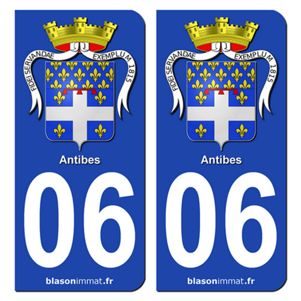 stickers-plaques-immatriculation-06-antibes-armoiries